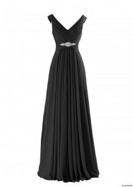 Chiffon Waist Bridesmaid's Dress and Prom Dresses Online