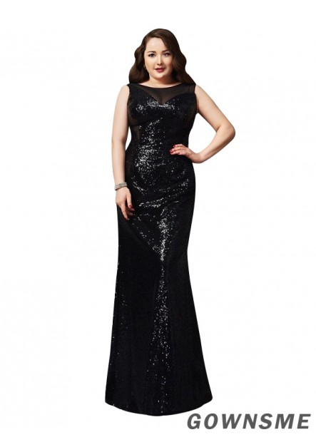 Gownsme Sexy Plus Size Prom Evening Evening Dress