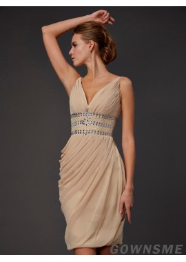 Gownsme Short Homecoming Prom Evening Dress