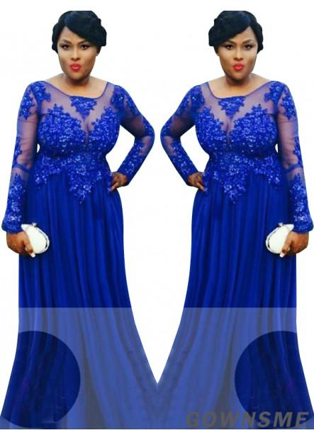 Gownsme Women Plus Size Lace Prom Formal Dresses Sale