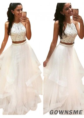 Gownsme Two Piece Ball Gown Prom Dresses Online
