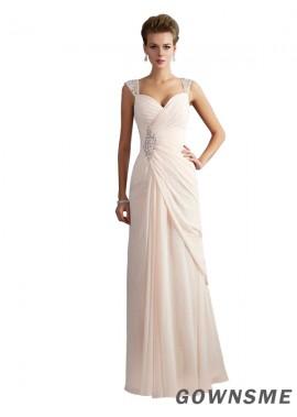 Trumpet/Mermaid Square Neckline Sweep Train Floor-Length Tulle Prom Dresses- Gownsme