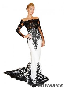 Gownsme Mermaid Long Prom Evening Dress
