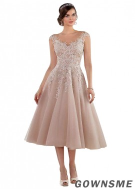 Gownsme Short Wedding Dresses With Lace