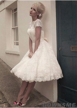 Gownsme Short Wedding Ball Gowns For Your Big Day