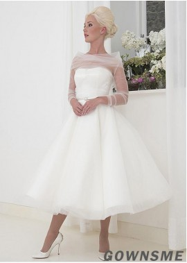 Gownsme Short Wedding Dress For Women