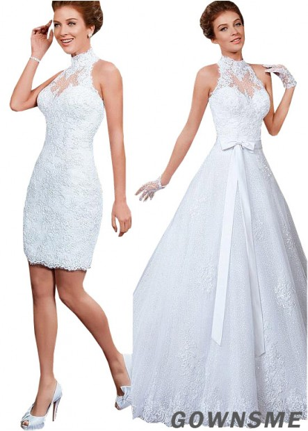 Gownsme Short Lace Ball Gowns