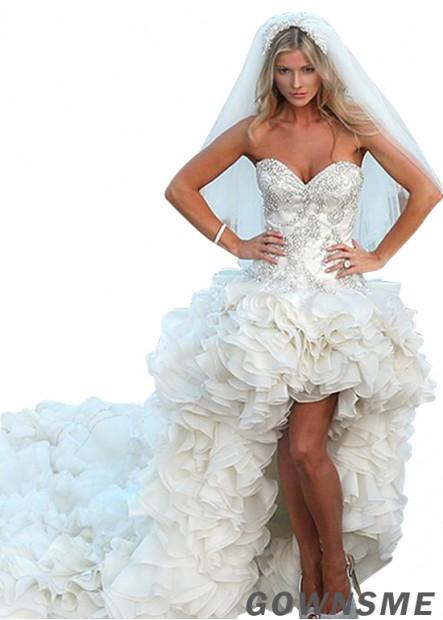 Gownsme Beach Short Wedding Dresses