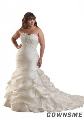 Gownsme Plus Size Wedding Dress