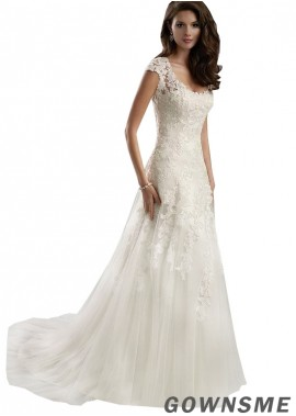 Gownsme Cheap Lace Wedding Dresses 2021