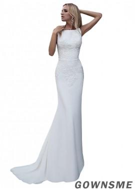 Gownsme Sheath Wedding Dresses Online Sale