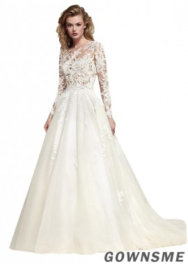 Gownsme Lace Wedding Dress
