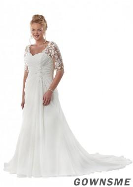 Gownsme Beach Plus Size Wedding Dresses
