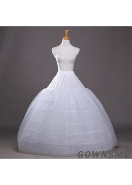 Increase the bride's wedding dressing skirt to increase the diameter of 120CM six steel ring two-layer yarn super Petticoat
